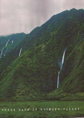 3 days in waimanu valley