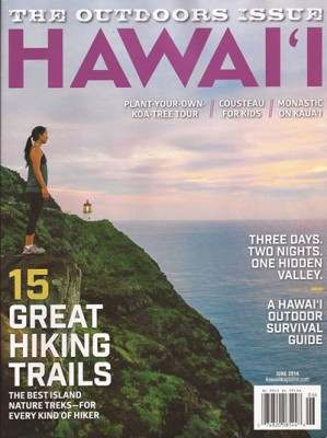 hawaii outdoor issue cover